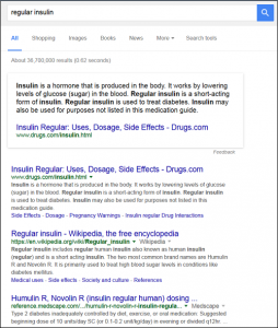 insulin-google-search